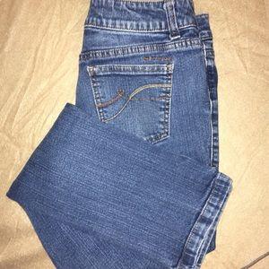 DKNY Straight Medium Wash Jeans